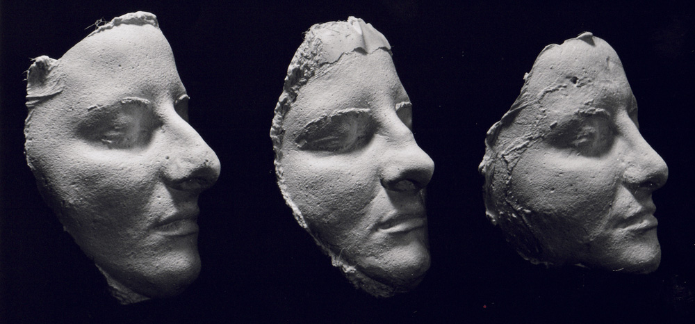 Life masks in the Bay Area